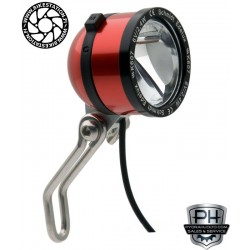 Schmidt LED lamp Edelux 60 cm red anodised