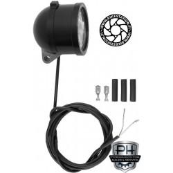 Schmidt LED lamp Edelux black anodised 140 cm